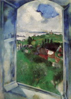 Marc Chagall. The Window, 1924