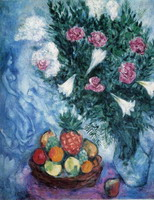 Marc Chagall. Fruits and Flowers, 1929