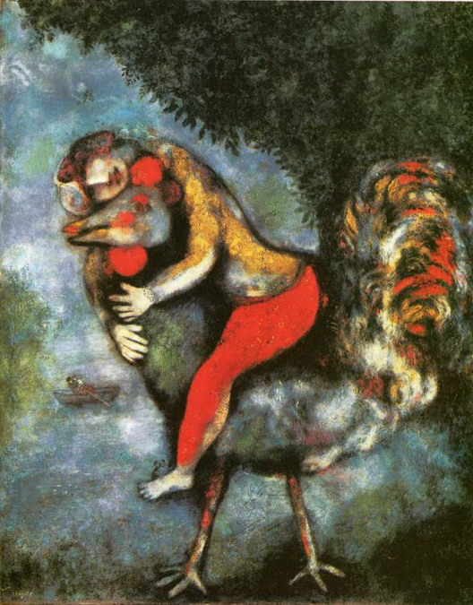Marc Chagall. The Rooster. 1929
