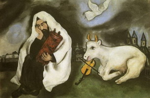 Marc Chagall. Solitude, 1933