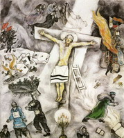 Marc Chagall. White Crucifixion, 1938