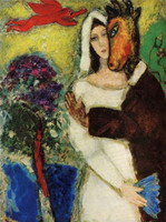 Marc Chagall. Midsummer Night's Dream, 1939