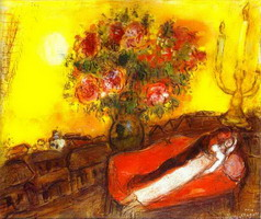 Marc Chagall. Le Ciel embrase, 1952–1954