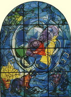 Marc Chagall. The Tribe of Benjamin, 1960