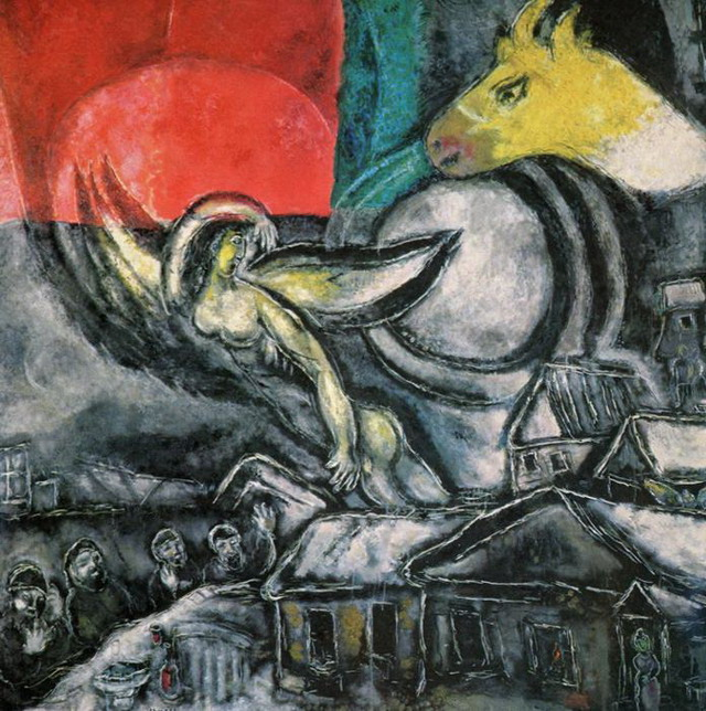 Marc Chagall. Easter. 1968