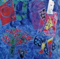 Marc Chagall. The Magician, 1968