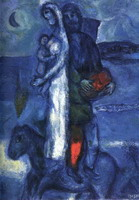 Marc Chagall. Fisherman's Family, 1968
