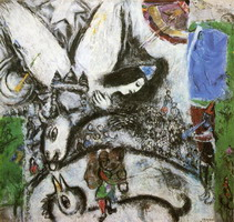 Marc Chagall. The Large Circus, 1968