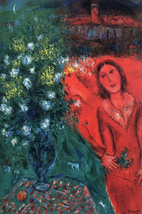Marc Chagall. Artist's Reminiscence. 1981