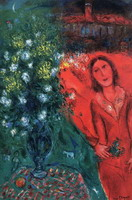 Marc Chagall. Artist's Reminiscence, 1981
