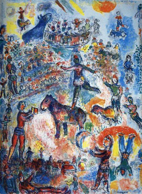 Marc Chagall. Great Circus. 1984