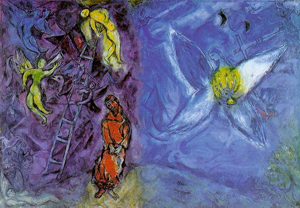 Marc Chagall. Jacob's Dream. 1954