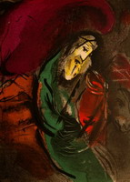 Marc Chagall. Jeremiah, 1956