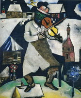 Marc Chagall. The Fiddler, 1912–1913