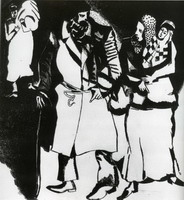 Marc Chagall, A Group of People, 1914 - 1915