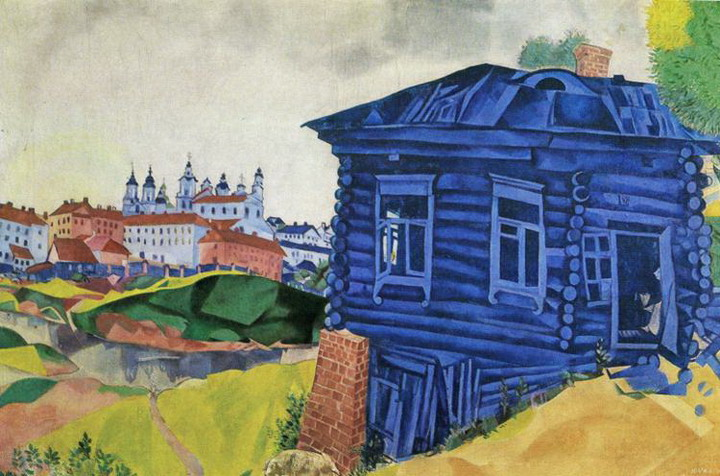Marc Chagall. The Blue House. 1917