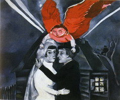 Marc Chagall. Wedding, 1918