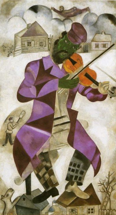 Marc Chagall. The Green Violinist. 1923