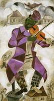 Marc Chagall, The Green Violinist, 1923 - 1924