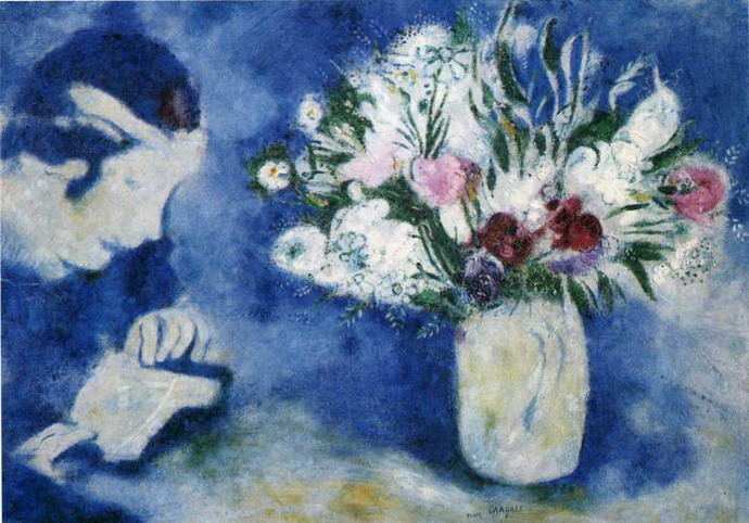 Marc Chagall. Bella in Mourillon. 1926
