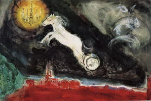 Marc Chagall, Scene design for the Finale of the Ballet