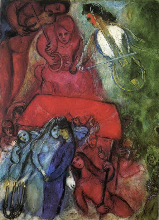 Marc Chagall. The Wedding. 1944