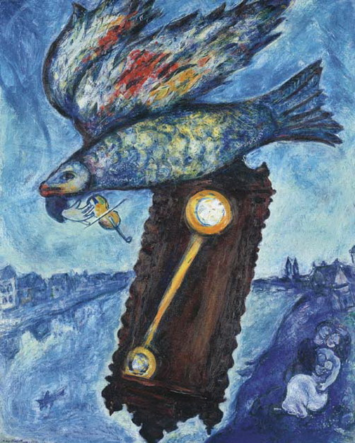 Marc Chagall. Time - the river without banks. 1930