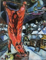 Marc Chagall, Flayed Ox, 1947