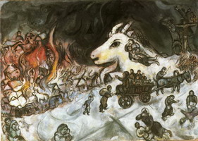 Marc Chagall, War, 1964 - 1966