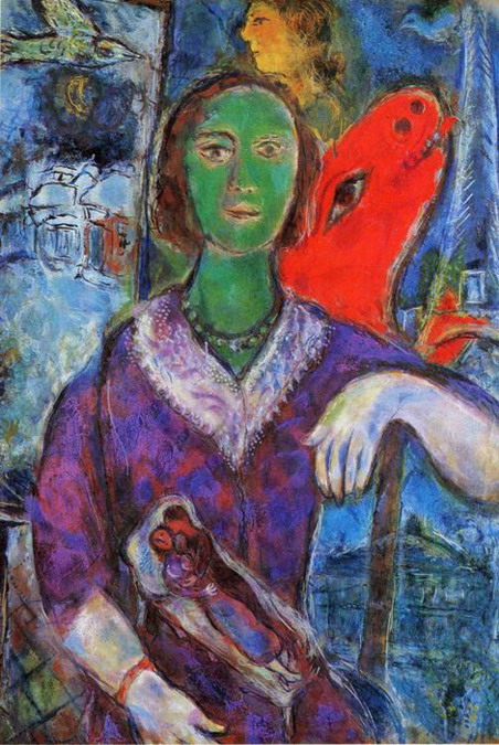 Marc Chagall. Portrait of Vava. 1966