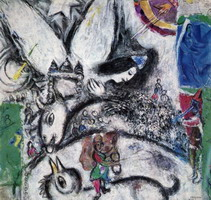 Marc Chagall, The Big Circus, 1968