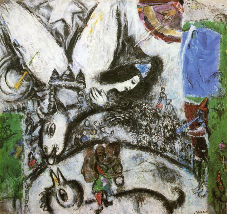 Marc Chagall. The Large Circus. 1968