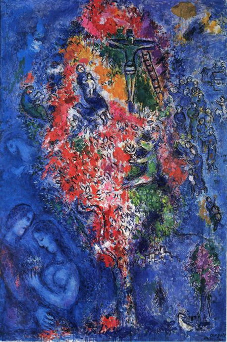 Marc Chagall. Tree of Jesse. 1975