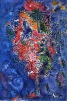 Marc Chagall, Tree of Jesse, 1975