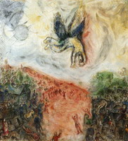 Marc Chagall. The Fall of Icarus, 1975