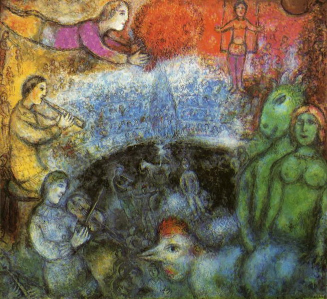 Marc Chagall. The Grand Parade. 1979