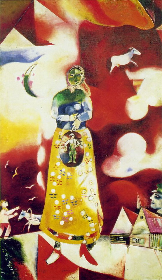 Marc Chagall. Maternity. 1913