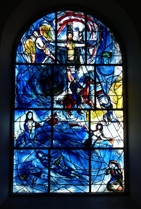 Marc Chagall. Twelve windows decorated for Tudeley All-Saints-church. 1967
