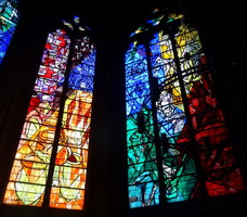 Marc Chagall, 19 stained-glass windows for Metz Cathedral, 1958 - 1968