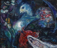 Marc Chagall, La nuit enchantee, 1964