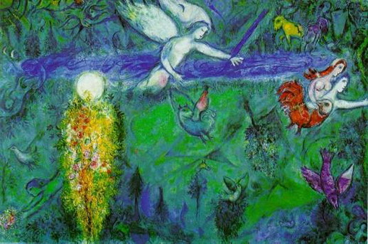 Marc Chagall. Song of Songs III. 1960