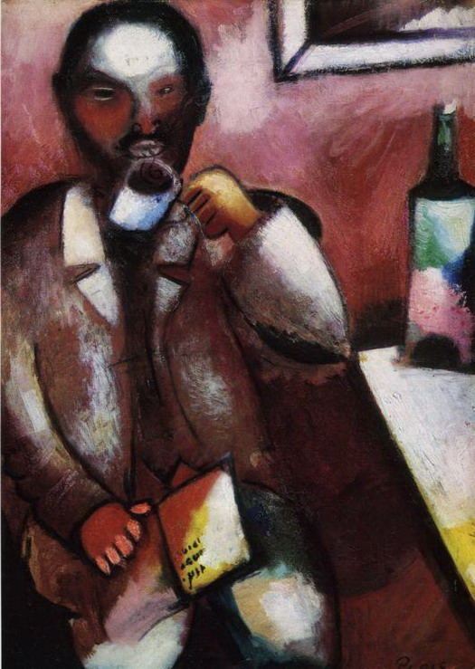 Marc Chagall. Mazin, the Poet. 1911