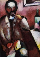 Marc Chagall, Mazin, the Poet, 1911 - 1912