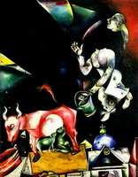 Marc Chagall, Russia. Asses and Others., 1911 - 1912