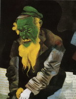 Jew in Green, 1914