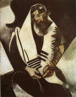 Marc Chagall. The Praying Jew, 1914