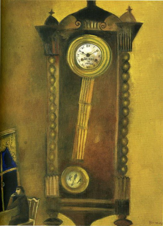 Marc Chagall. Clock. 1914