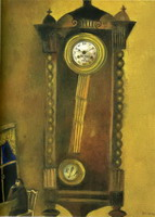 Marc Chagall, Clock, 1914
