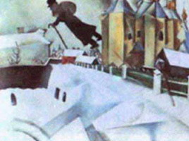Marc Chagall. Over Vitebsk, 1915–1920