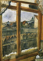 View from a Window. Vitebsk, 1908